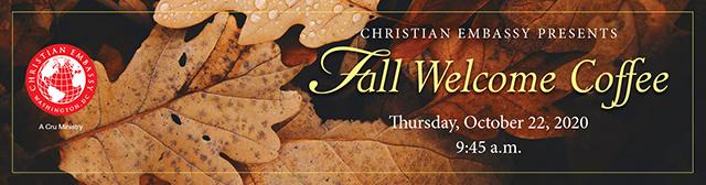 Virtual Fall Welcome Coffee